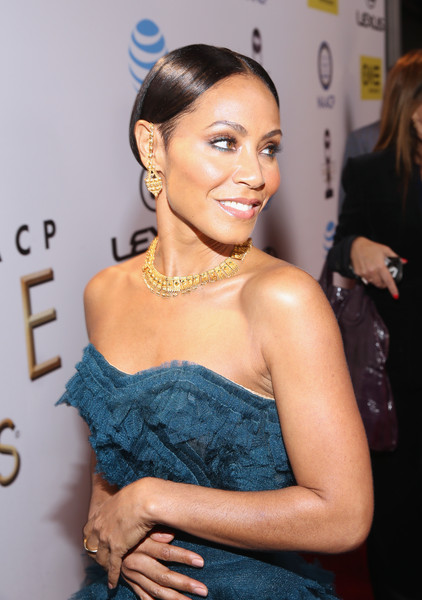 Actress Jada Pinkett Smith attends the 47th NAACP Image Awards presented by TV One at Pasadena Civic Auditorium on February 5, 2016 in Pasadena, California.