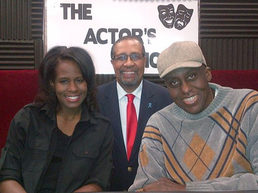 (L-R) LaRita Shelby, Ron Brewington and Bill Duke
