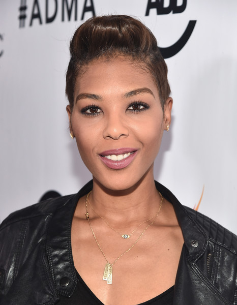 Moniece Slaughter attends the ALL Def Movie Awards at Lure Nightclub on February 24, 2016 in Hollywood, California.
