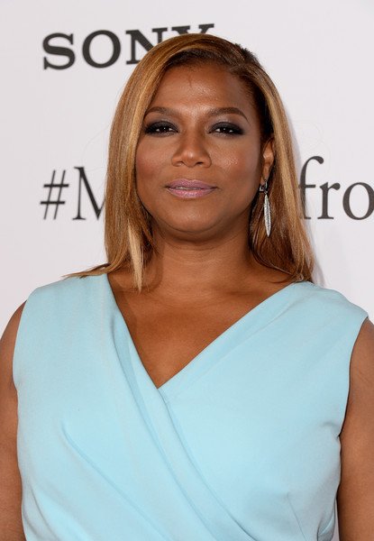 "Actress Queen Latifah arrives at the Premiere of Columbia Pictures' ""Miracles From Heaven"" at ArcLight Hollywood on March 9, 2016 in Hollywood, California."