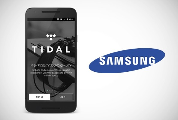 Samsung-and-Tidal