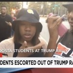 Black Students Tossed from Trump Rally Before it Started (Watch)