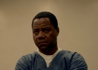 """Cuba Gooding Jr. in a scene from """"The People v. O.J. Simpson"""" (FX)"""
