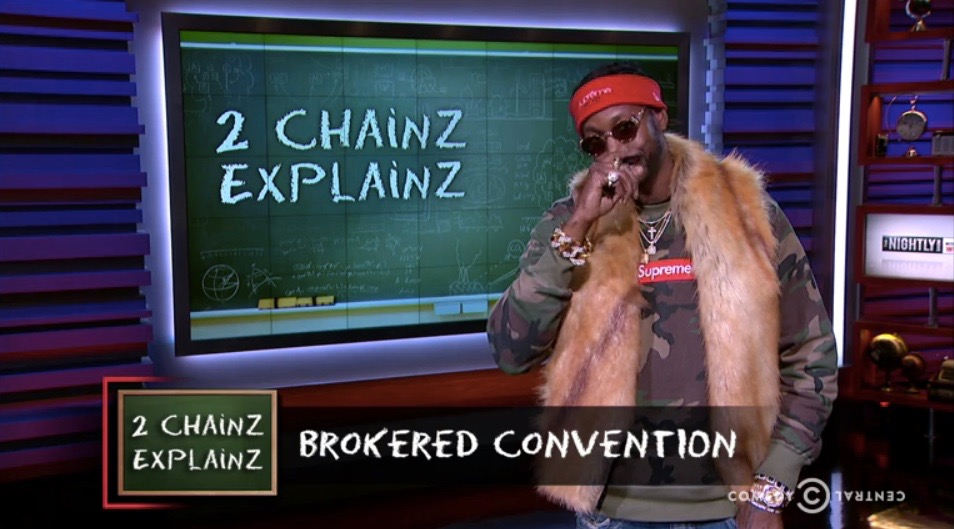 "2 Chainz on ""The Nightly Show"""