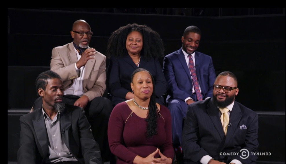 """Black supporters of Donald Trump on """"The Nightly Show with Larry Wilmore"""""""