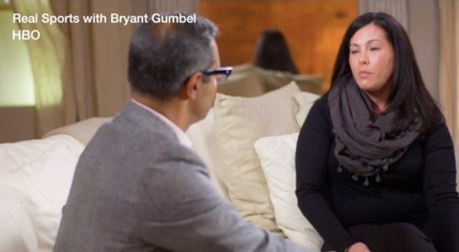 "Mandi Koba on HBO's ""Real Sports with Bryant Gumbel"""