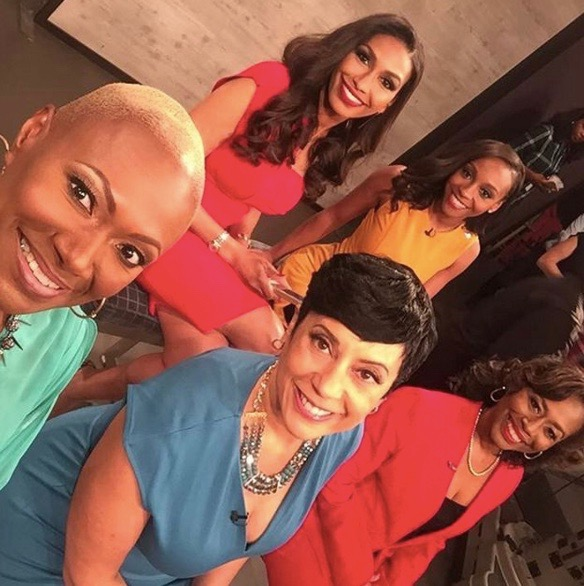 "The cast of WE tv's ""Sisters In Law"""
