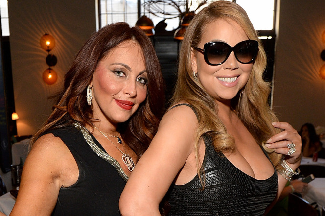 Stella Bulochnikov and Mariah Carey