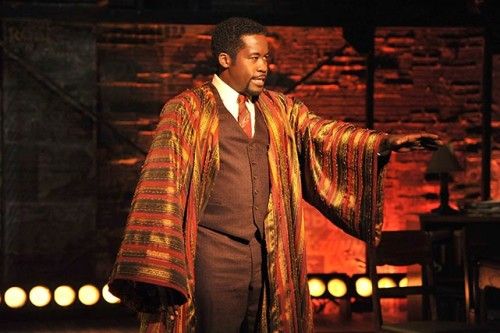 Daniel Beaty as Paul Robeson in The Tallest Tree in the Forest Credit: Photo by Don Ipock