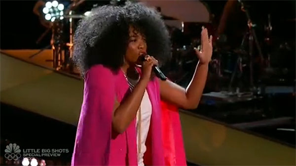 Tamar Davis auditions on 'The Voice'