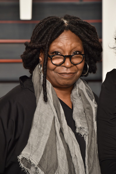 Actress Whoopi Goldberg attends the 2016 Vanity Fair Oscar Party Hosted By Graydon Carter at the Wallis Annenberg Center for the Performing Arts on February 28, 2016 in Beverly Hills, California.