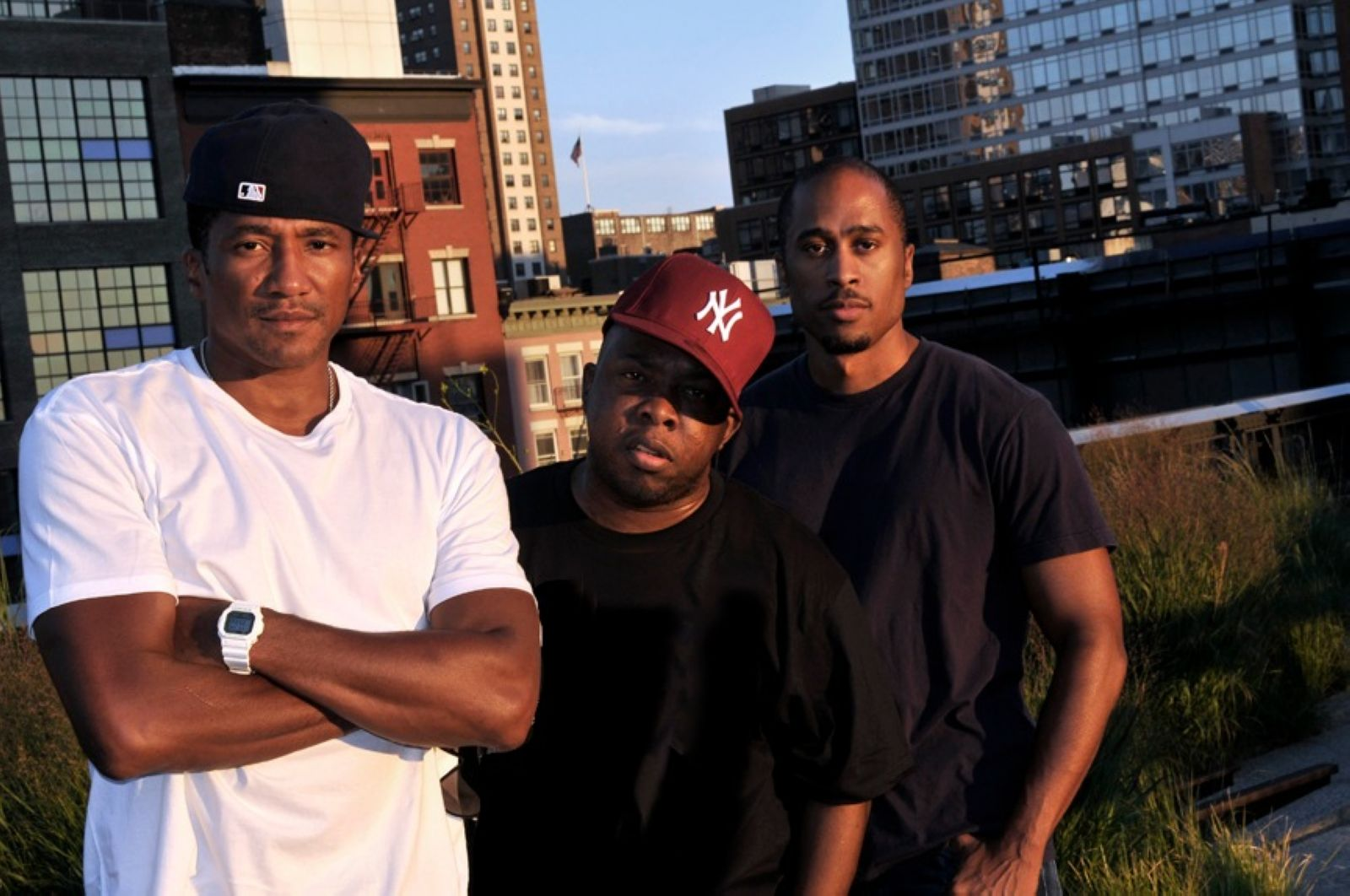 A Tribe Called Quest: (L-R) Q-Tip, Phife Dawg and Ali Shaheed