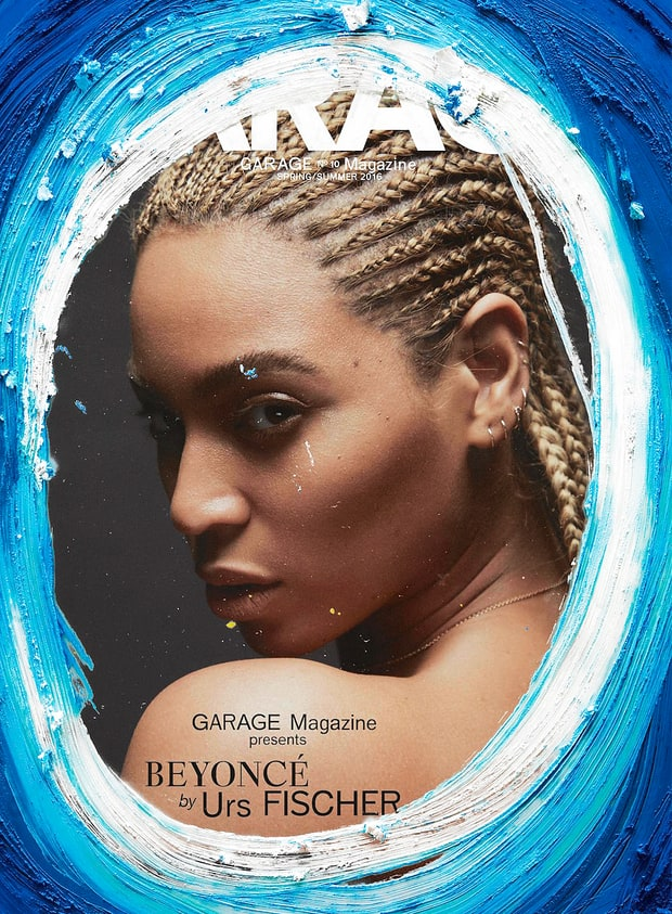 Beyonce on cover of Garage Magazine