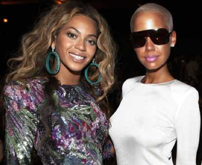 Beyonce and Amber Rose