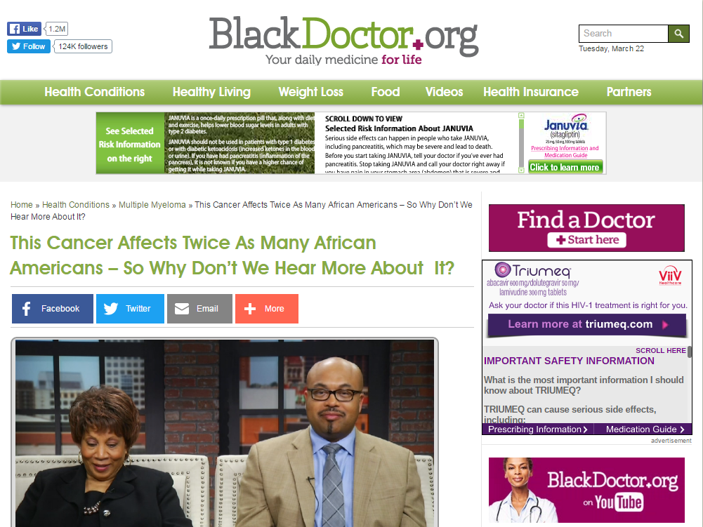 BlackDoctors.org, top black doctors, top blacks in health care