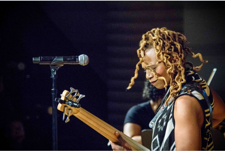 Black Women and Rock & Roll Mix at Women's Hist. Event