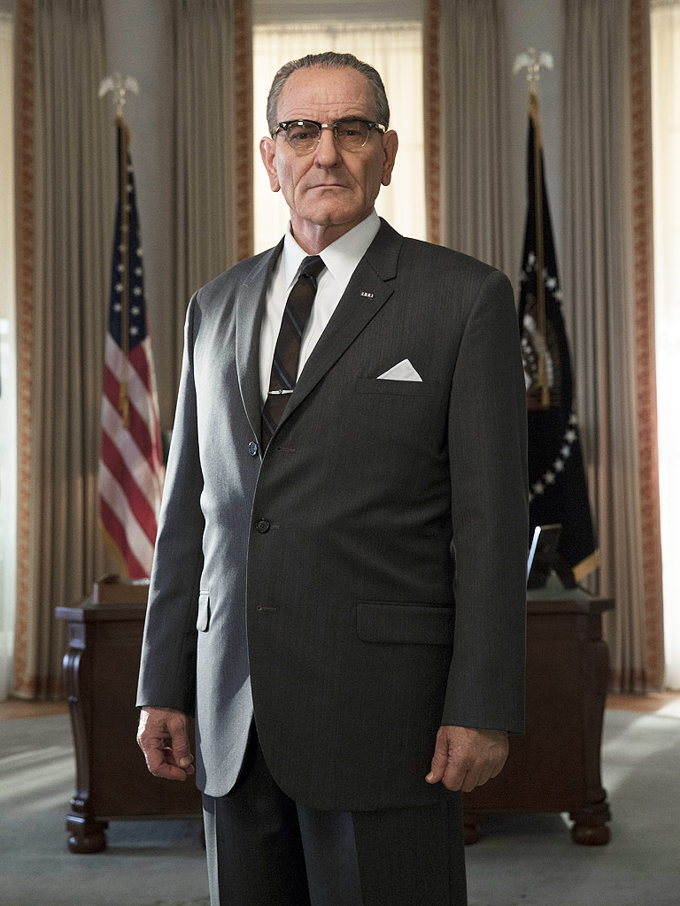 "Bryan Cranston as LBJ in HBO's ""All The Way"""