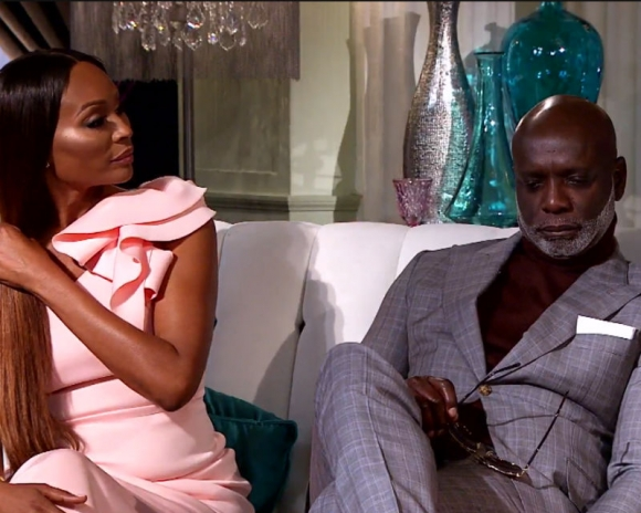 "Cynthia Bailey and Peter Thomas of ""The Real Housewives of Atlanta"" reunion"