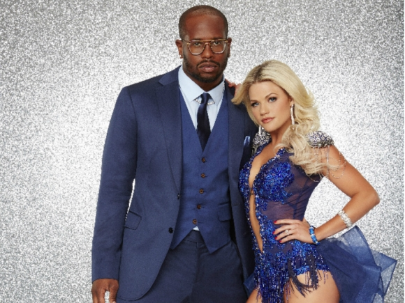 "Von Miller, Witney Carson of ABC's ""Dancing With the Stars"""