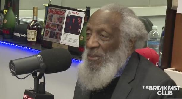 dick gregory (the breakfast club)