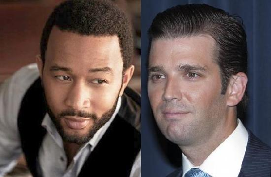 john legend & donald trump jr