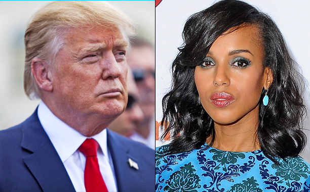 donald trump & kerry washington