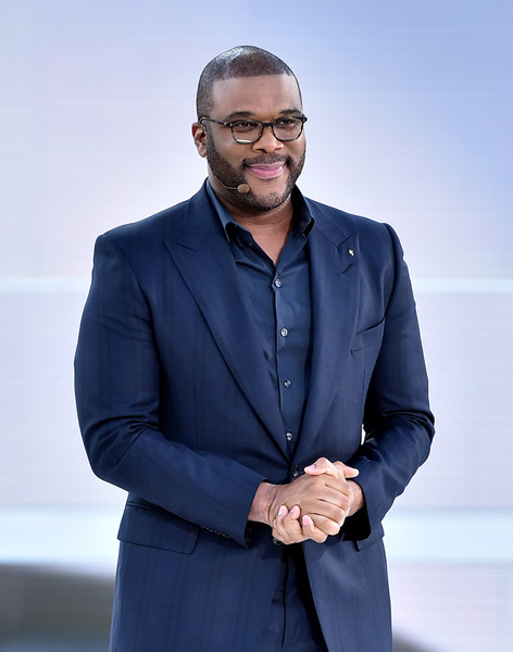 """Host Tyler Perry appears in """"The Passion"""", an epic musical event airing LIVE from New Orleans on FOX, at Woldenberg Park on March 20, 2016 in New Orleans, Louisiana."""