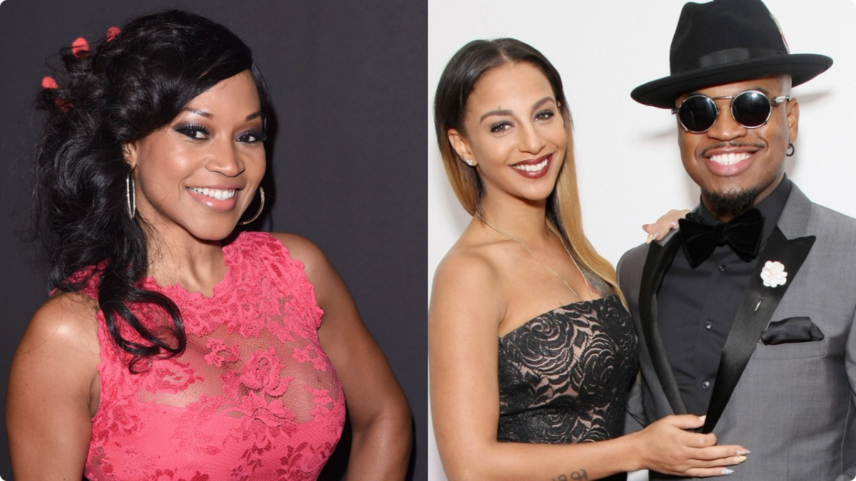 Monyetta Shaw (L), Crystal Renae and Ne-Yo