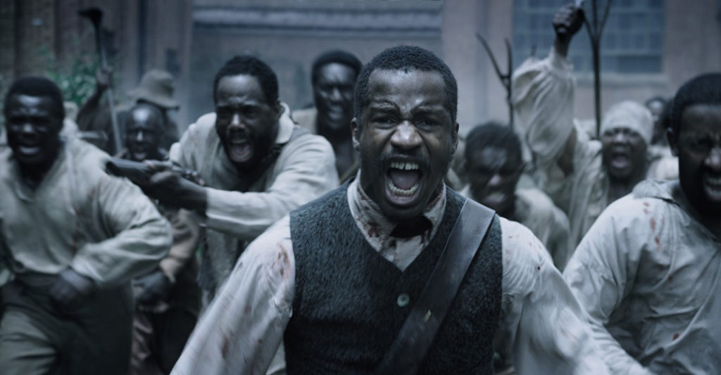 Nate Parker in a scene from 'Birth of a Nation'