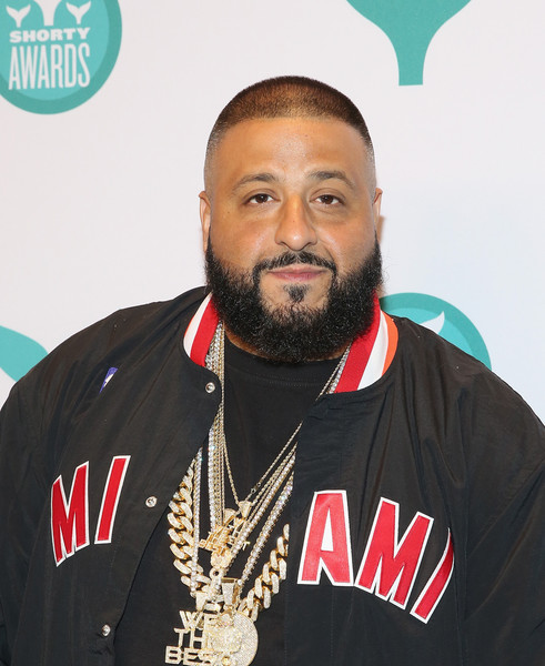 DJ Khaled attends 8th Annual Shorty Awards Red Carpet And Awards Ceremony at The New York Times Center on April 11, 2016 in New York City.