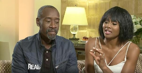 Don Cheadle & Emayatzy Corinealdi (screenshot)