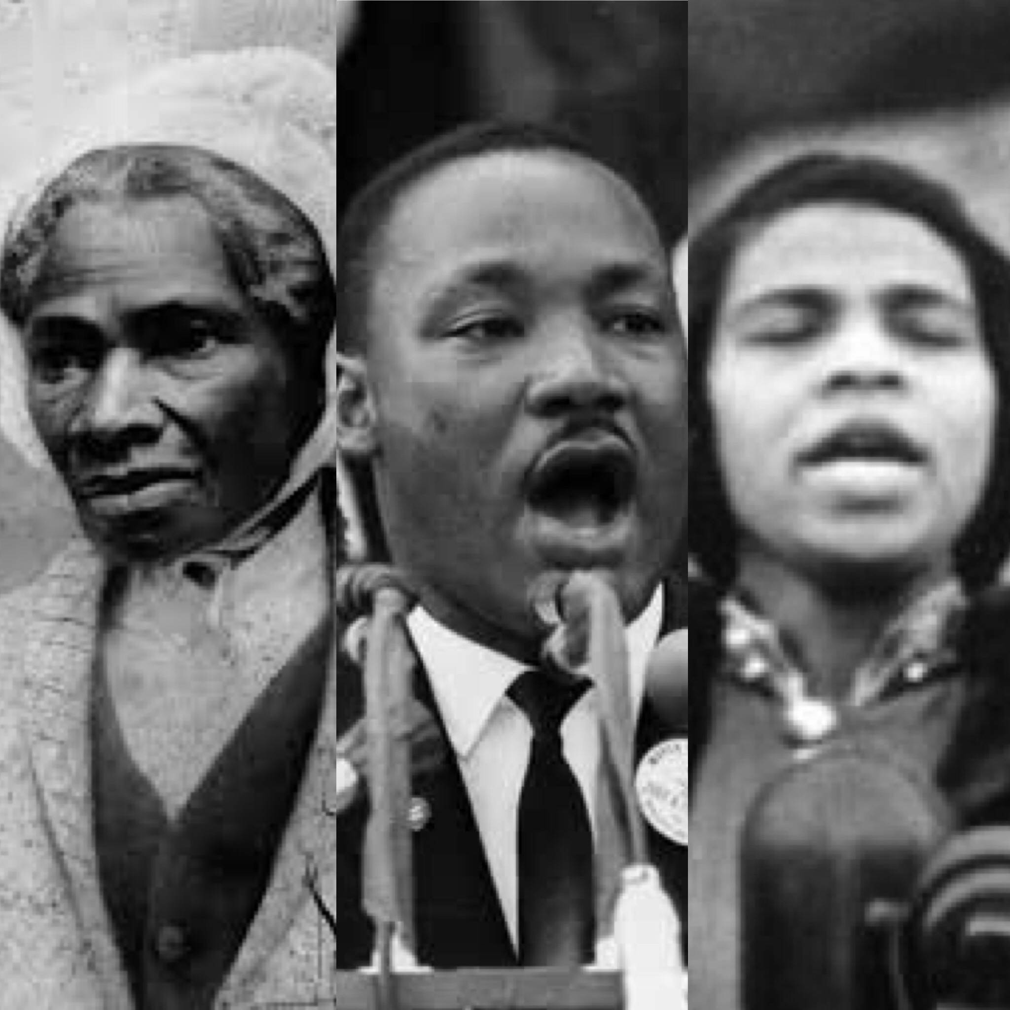 Sojourner Truth, Dr. Martin Luther King, Marian Anderson