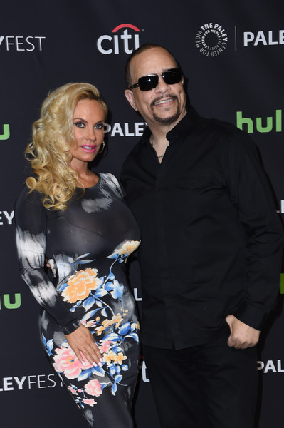 Rapper/actor Ice-T (R) and Coco arrive at The Paley Center For Media's 33rd Annual PaleyFest Los Angeles presentation of 'An Evening with Dick Wolf with the stars of Law & Order: SVU, Chicago Fire, P.D., & Med' at Dolby Theatre on March 19, 2016 in Hollywood, California.
