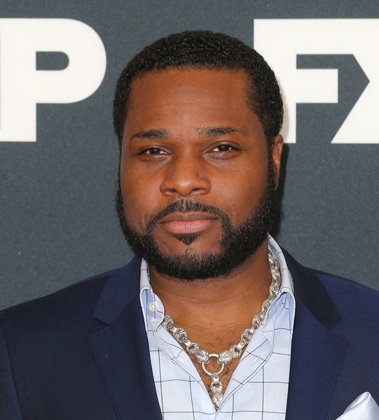 Actor Malcolm-Jamal Warner attends the FX TCA Winter Press Tour Panel at Langham Hotel on January 16, 2016 in Pasadena, California.