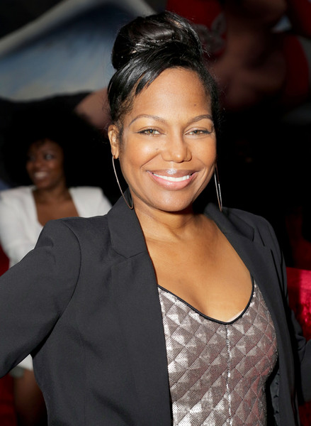 """R&B vocalist Michel'le attends TV One's """"Hello Beautiful Interludes Live"""" Featuring NeYo at The Conga Room at L.A. Live on February 23, 2015 in Los Angeles, California."""