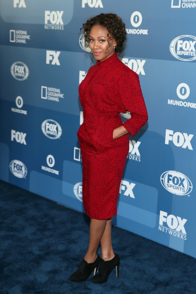 Actress Nicole Beharie attends the 2015 FOX programming presentation at Wollman Rink in Central Park on May 11, 2015 in New York City.