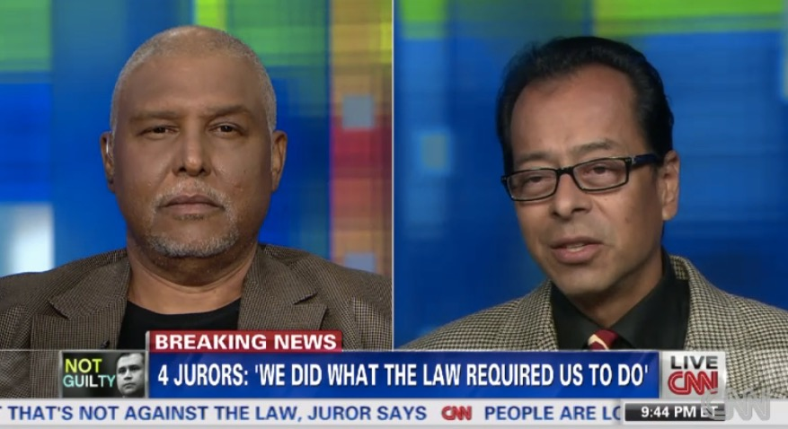 Lionel Cryer and David Aldana, both OJ Simpson jurors, still feel they have no doubt Simpson was not guilty.