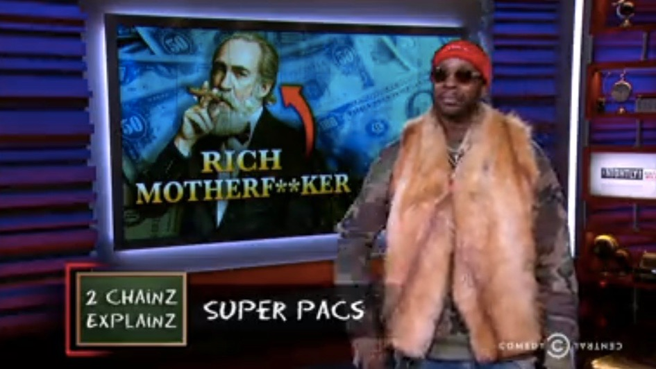 "2 Chainz on ""The Nightly Show with Larry Wilmore"""