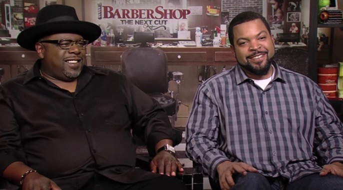 Cedric the Entertainer (L) and Ice Cube