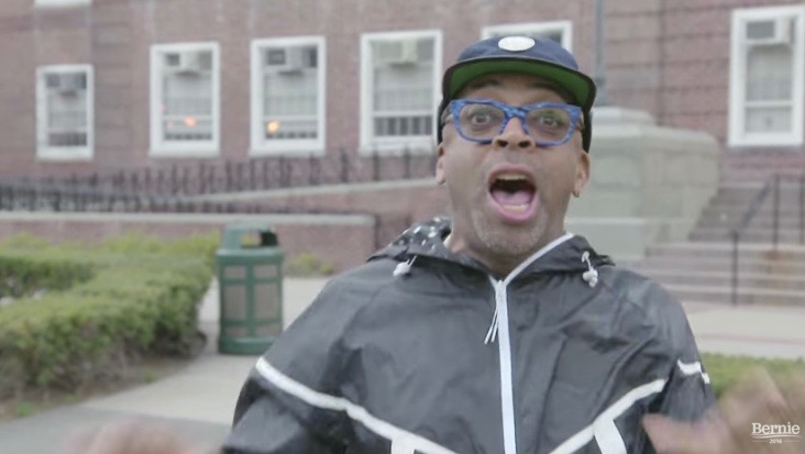 "Spike Lee in ""Wake Up"" ad for Bernie Sanders"