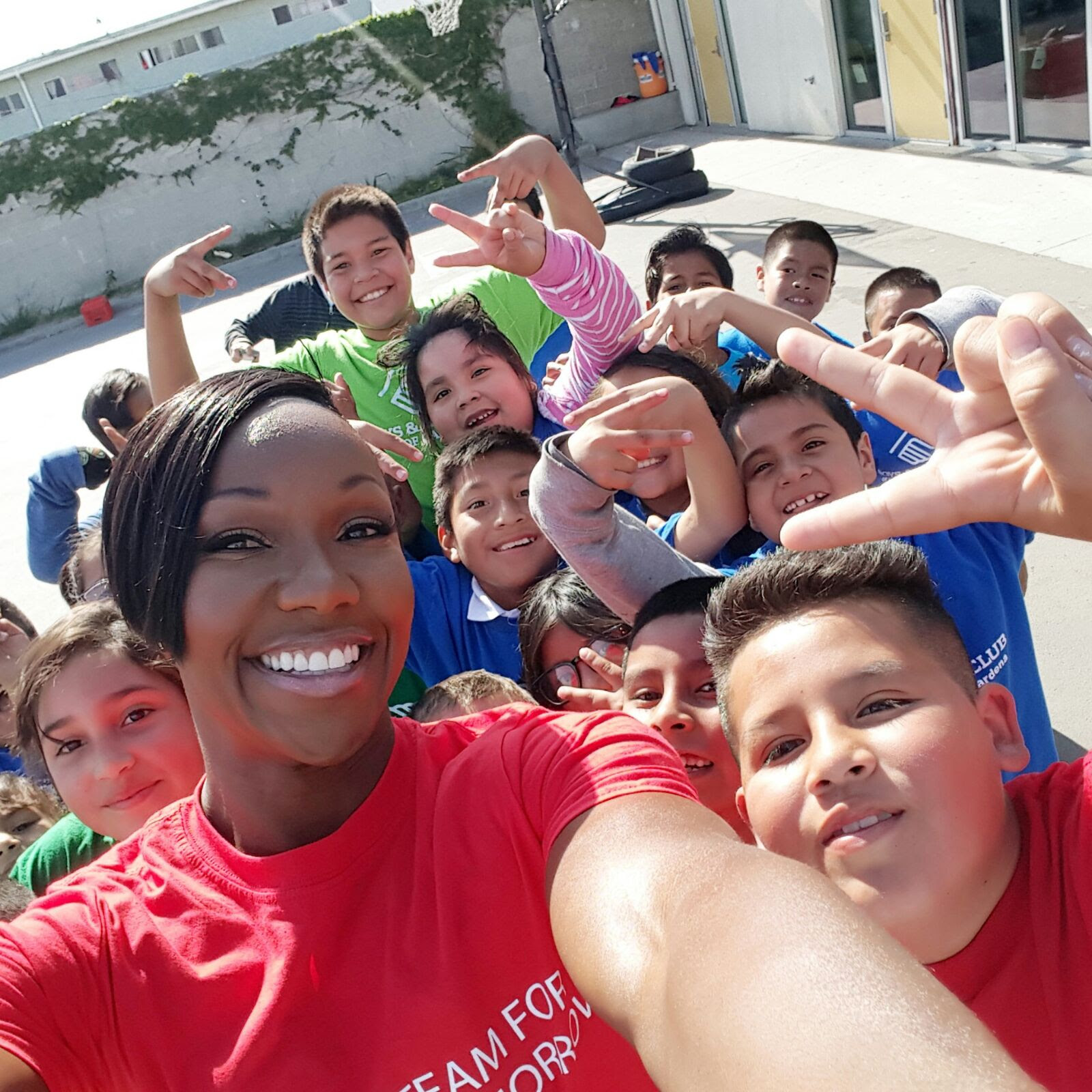 carmelita jeter, fastest woman alive, the jet, boys and girls club