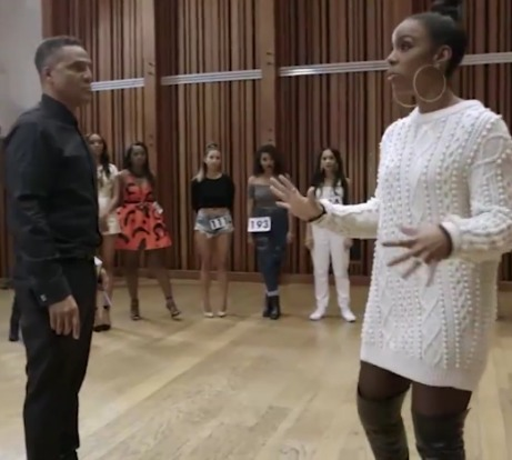 "Frank Gatson and Kelly Rowland in BET's ""Chasing Destiny"""
