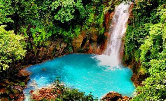 costa rica (waterfall)