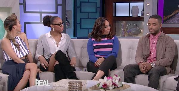larenz tate (on the real couch)
