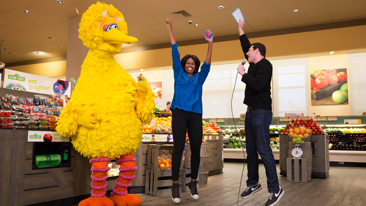 michelle obama big bird billy eichner