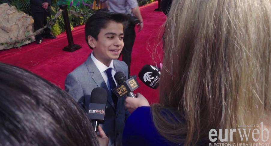 Neel Sethi star of 'The Jungle Book'