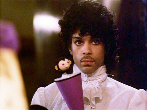 "The movie ""Purple Rain"", directed by Albert Magnoli. Seen here, Prince as The Kid. Initial theatrical release July 27, 1984.  Screen capture. © 1984 Warner Bros. Credit: © 1984 Warner Bros. / Flickr / Courtesy Pikturz."