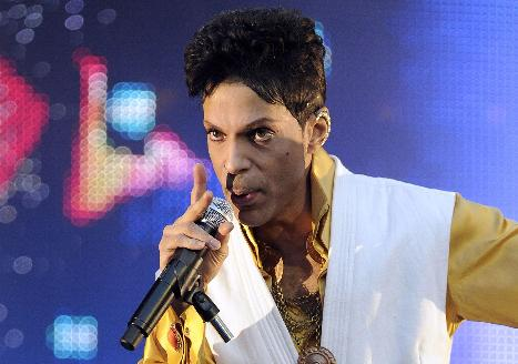 prince (with mic)