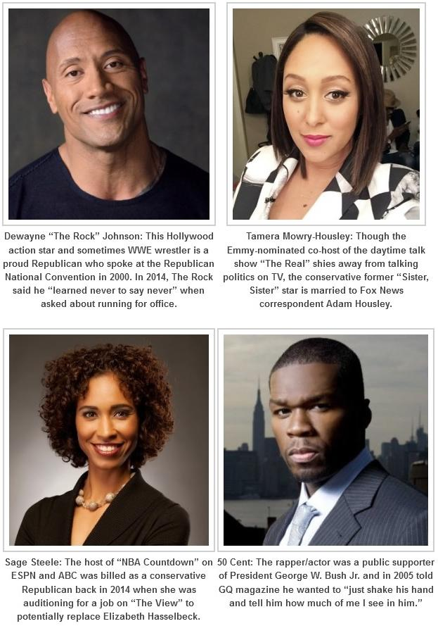 Black Celebrities Voting For Donald Trump - Essence
