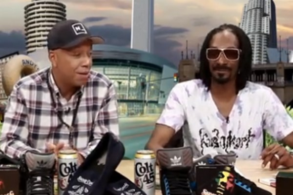 Russell Simmons and Snoop Dogg